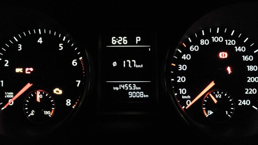 タイヤ交換後の燃費