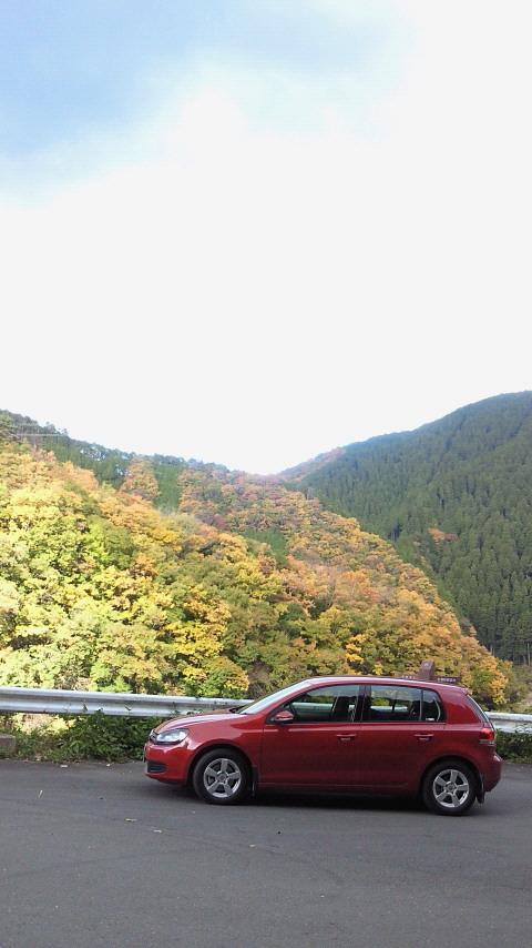 日吉ダムの紅葉